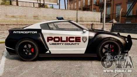 GTA V Police Elegy RH8 pour GTA 4 est une gauche