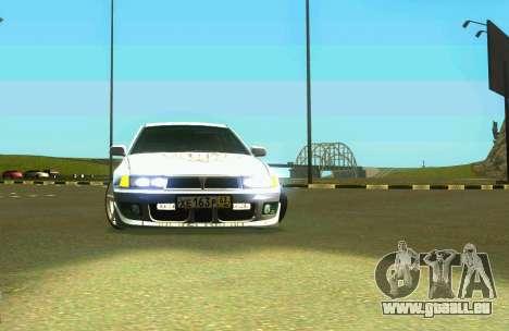Mitsubishi Galant für GTA San Andreas zurück linke Ansicht