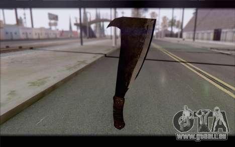 Machette pour GTA San Andreas