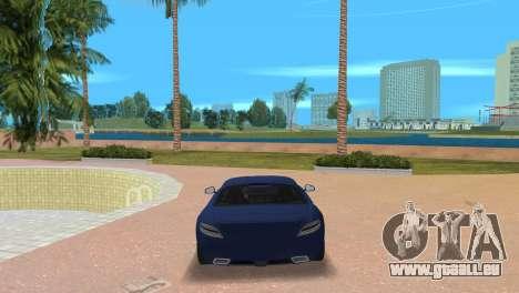 Mercedes-Benz SLS AMG V12 pour GTA Vice City sur la vue arrière gauche
