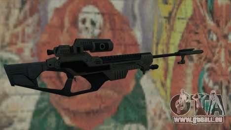 Scharfschützengewehr von Timeshift für GTA San Andreas zweiten Screenshot