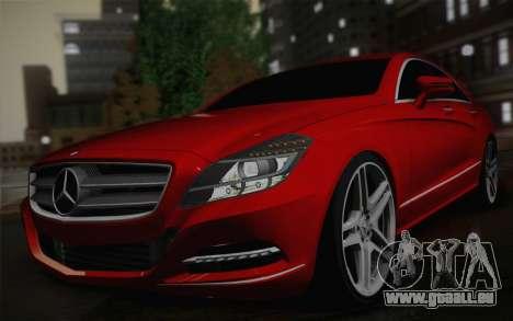 Mercedes-Benz CLS 63 AMG 2012 Fixed für GTA San Andreas rechten Ansicht