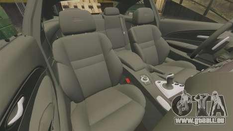 BMW M6 pour GTA 4 est un côté