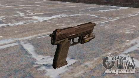 HK USP 45 Pistole MW3 für GTA 4 Sekunden Bildschirm