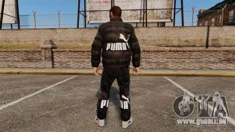 Vêtements Puma pour GTA 4 secondes d'écran