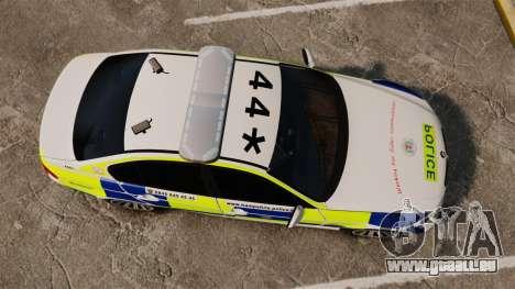 BMW 330i Hampshire Police [ELS] pour GTA 4 est un droit