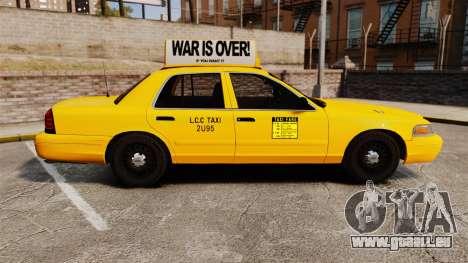 Ford Crown Victoria 1999 LCC Taxi für GTA 4 linke Ansicht