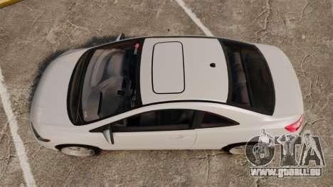 Honda Civic Si v2.0 pour GTA 4 est un droit