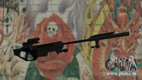 Scharfschützengewehr von Timeshift für GTA San Andreas