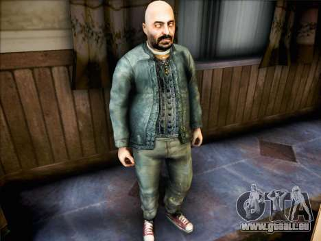 Prêtre de Half Life 2 pour GTA San Andreas deuxième écran