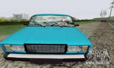 VAZ 2107 coupé pour GTA San Andreas vue de côté