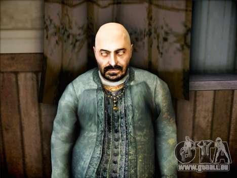 Prêtre de Half Life 2 pour GTA San Andreas