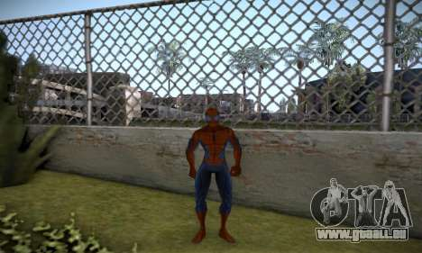 Spider man EOT Full Skins Pack für GTA San Andreas dritten Screenshot