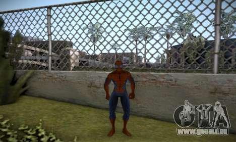Spider man EOT Full Skins Pack pour GTA San Andreas troisième écran