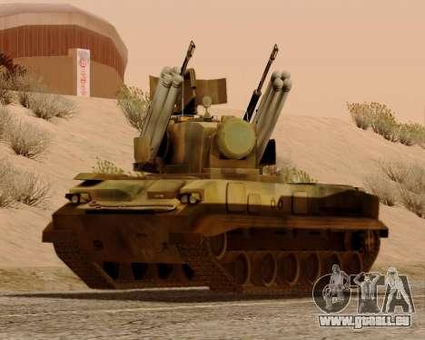 2S6 Tunguska für GTA San Andreas