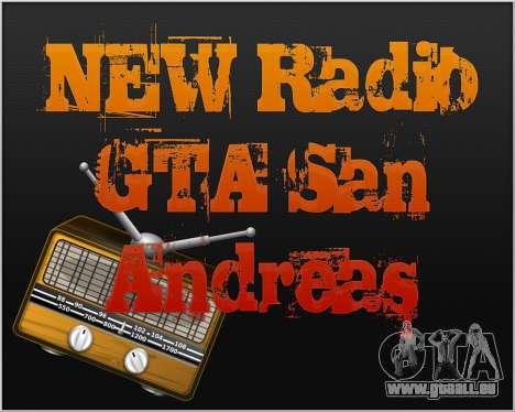 Nouvelle radio pour GTA San Andreas