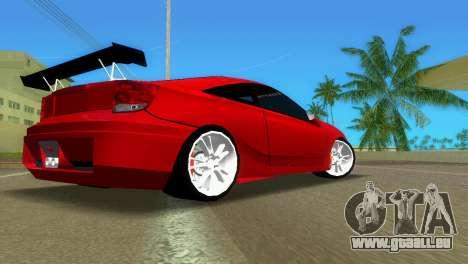 Toyota Celica XTC für GTA Vice City rechten Ansicht