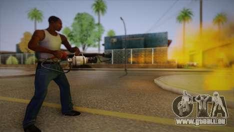Flammenwerfer aus Team Fortress für GTA San Andreas dritten Screenshot