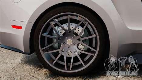 Ford Mustang GT 2013 NFS Edition für GTA 4 Rückansicht
