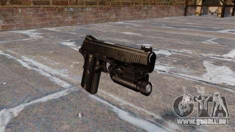 Pistolets semi-automatiques Kimber pour GTA 4