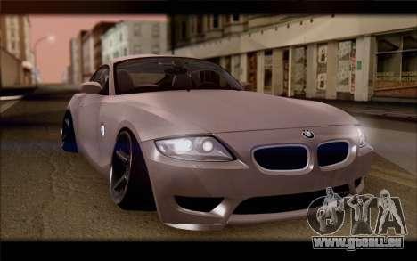BMW Z4 Stance pour GTA San Andreas