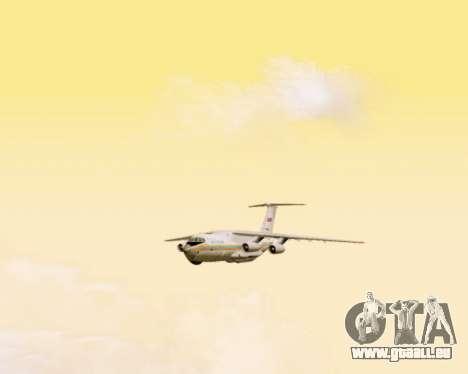 Il-76td EMERCOM de Russie pour GTA San Andreas vue intérieure