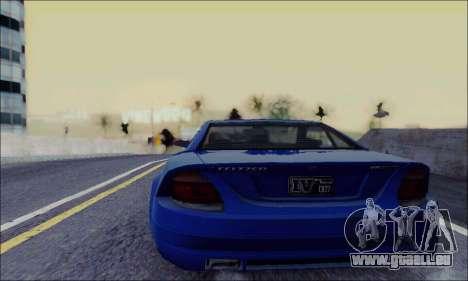 Feltzer de GTA IV pour GTA San Andreas sur la vue arrière gauche