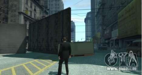 CreatorMod Z pour GTA 4 troisième écran
