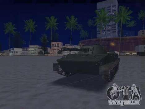 PT-76 pour GTA San Andreas laissé vue
