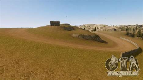 Cliffside emplacement Rallye pour GTA 4 septième écran