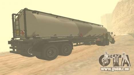 Trailer pour GTA 5 casernes ver. 2 pour GTA San Andreas