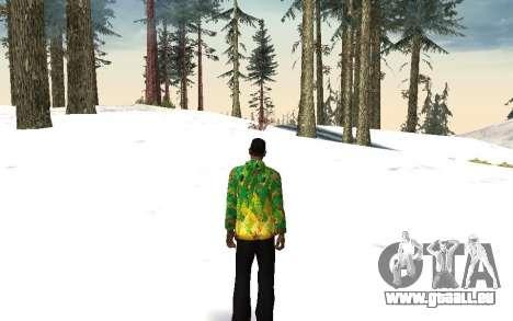 Veste de Sochi 2014 pour GTA San Andreas troisième écran