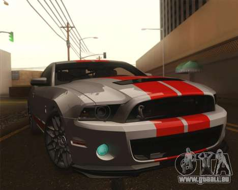 Ford Shelby GT500 2013 pour GTA San Andreas
