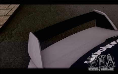 Mitsubishi Lancer Evolution Stance für GTA San Andreas Rückansicht
