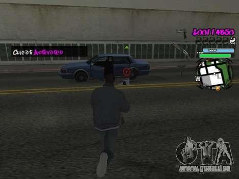 HUD für GTA San Andreas neunten Screenshot