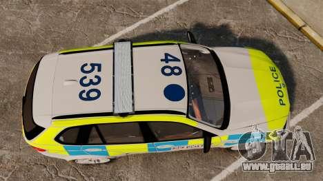 BMW X5 City Of London Police [ELS] für GTA 4 rechte Ansicht