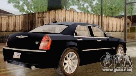 Chrysler 300C für GTA San Andreas linke Ansicht