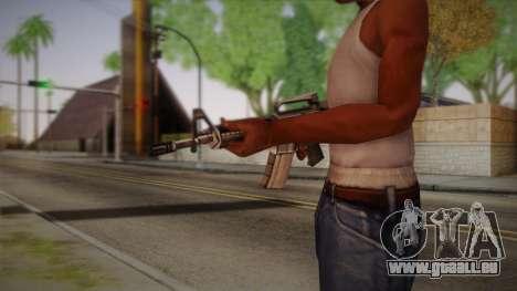 M4 de Max Payne pour GTA San Andreas deuxième écran
