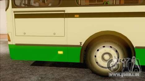 LIAZ 5256.57 pour GTA San Andreas sur la vue arrière gauche