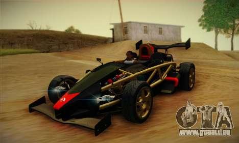 Ariel Atom 500 2012 V8 für GTA San Andreas