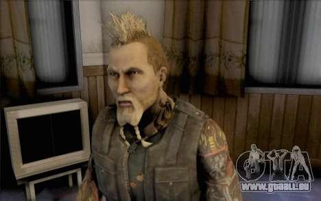 Mathias Nilsson de Mercenaries 2 pour GTA San Andreas troisième écran