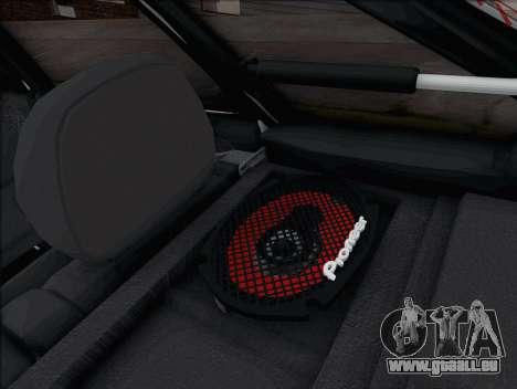 ВАЗ 2114 pour GTA San Andreas vue arrière