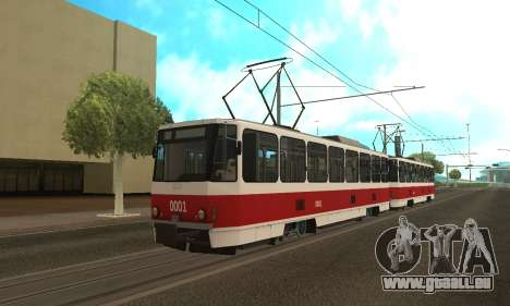 Tatra T6B5 pour GTA San Andreas