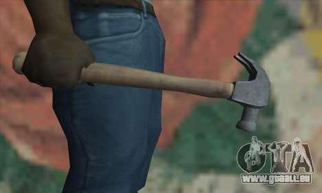 Marteau de GTA V pour GTA San Andreas troisième écran