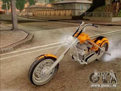 Sons Of Anarchy Chopper Motorcycle für GTA San Andreas