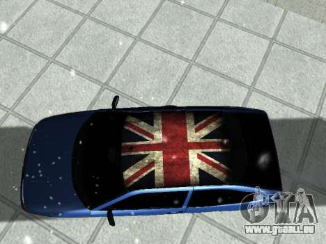 VAZ 21123 pour GTA San Andreas vue arrière