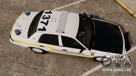 Ford Crown Victoria 2011 LCSHP [ELS] pour GTA 4 est un droit