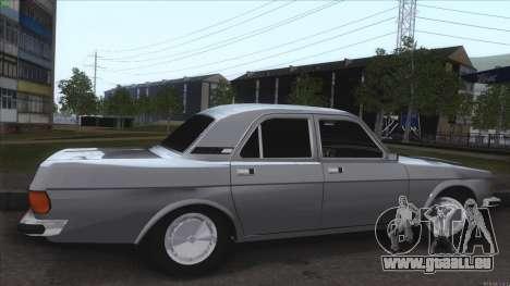 GAZ Volga 3102 pour GTA San Andreas vue intérieure