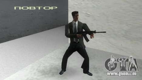 Glattläufige Gewehr Saiga 12 k für GTA Vice City zweiten Screenshot