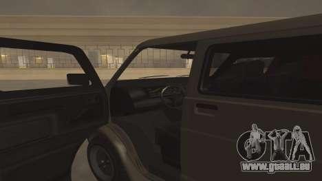 Baller GTA 5 für GTA San Andreas Seitenansicht